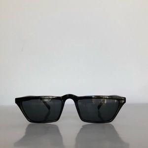 Other - Slim Frame Retro Vintage Narrow Sunglasses
